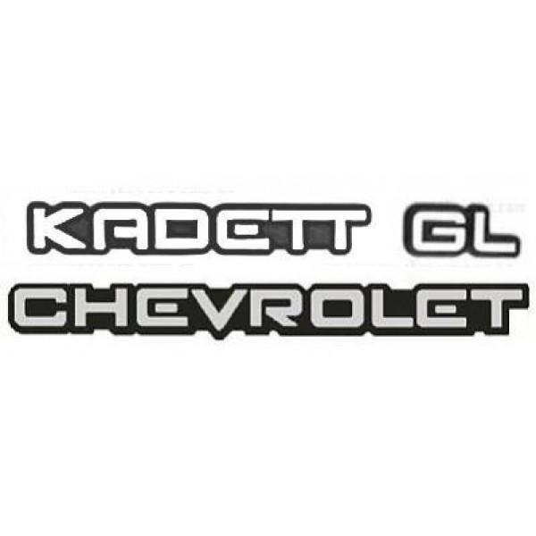 Kit Emblemas Kadett GL