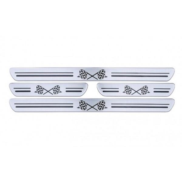 Soleira Resinada Flexível Universal 4 Portas Adesiva
