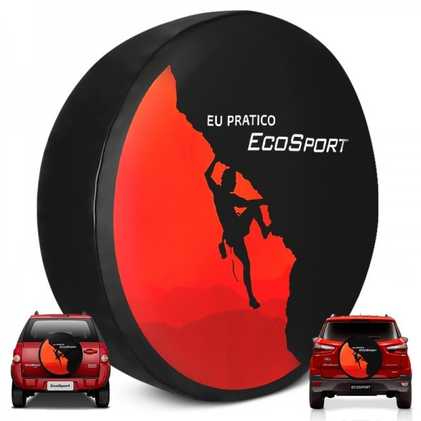 Capa Estepe Ecosport Vermelho Universal