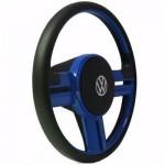 Volante Rallye Universal Azul Sem Cubo